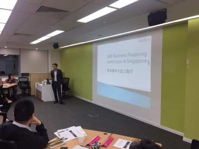 Presentation to delegates from Suzhou Industrial Park