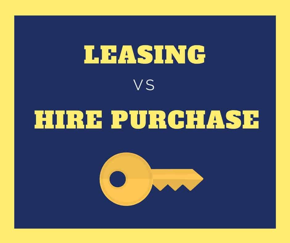 Difference Between Leasing And Hire Purchase